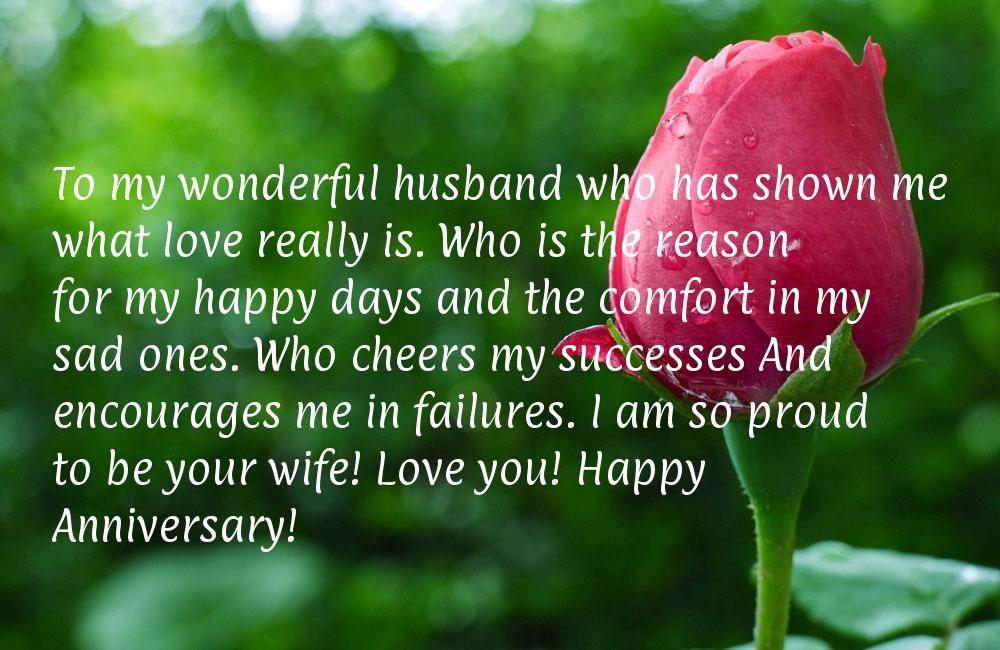happy anniversary to my husband Happy Anniversary To My