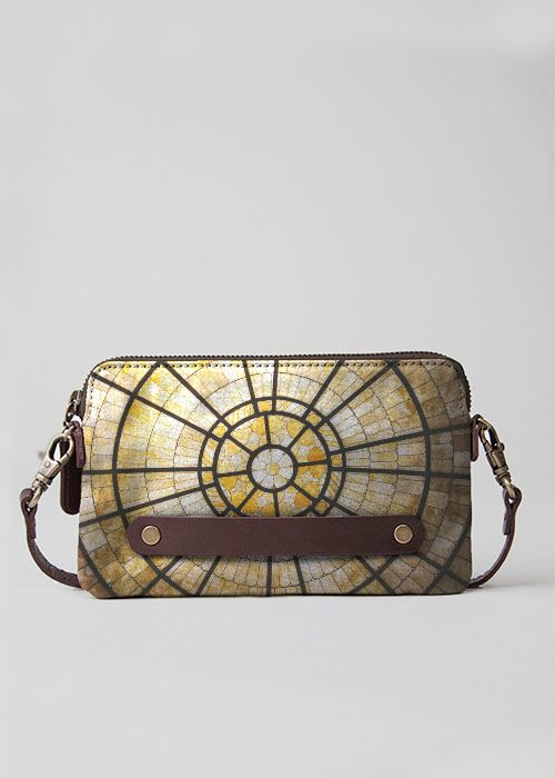 VIDA Leather Statement Clutch - STORE CACTUS by VIDA