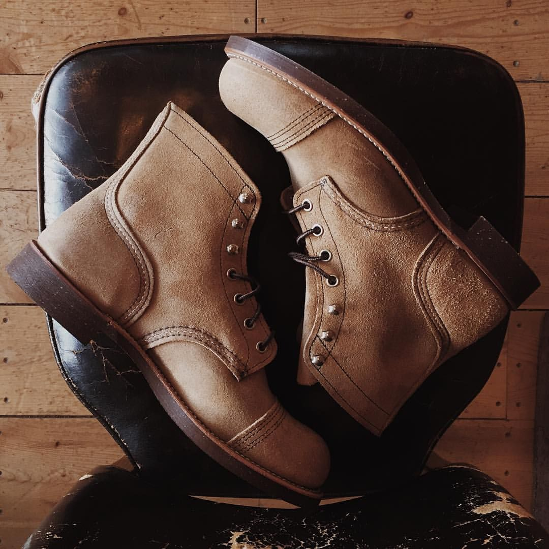 Archive of Manliness | norwoodshop: Red Wing Heritage's 8113 Iron...