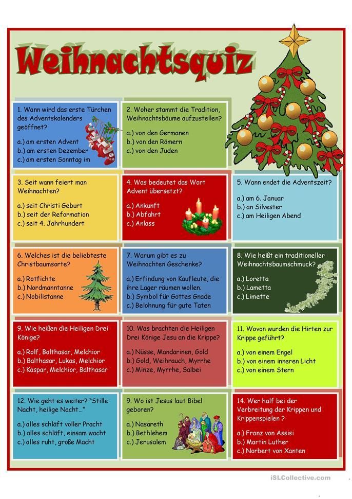 Weihnachtsquiz   német 3   Pinterest   Christmas, Xmas and Advent