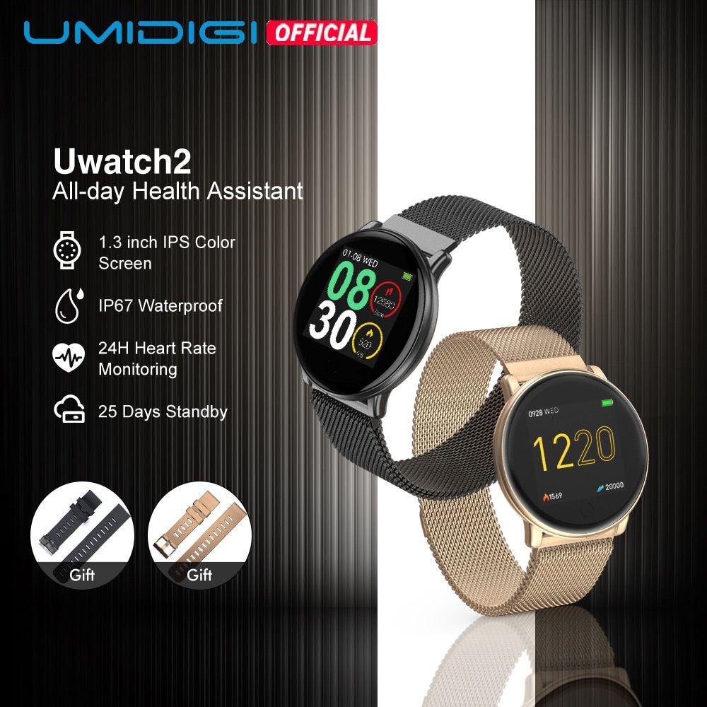 montre intelligente UMIDIGI Uwatch2 pour android, IOS 1.33