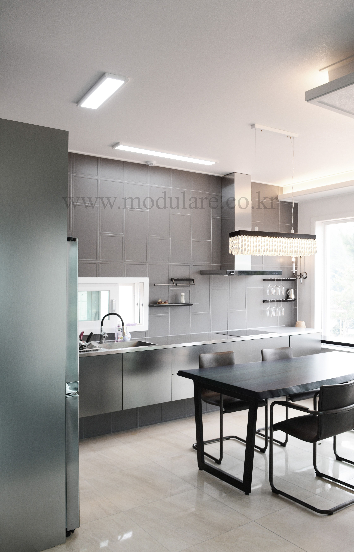 Best Modulare Kitchen Interior 모듈라레 주방인테리어 Www Modulare Co 400 x 300