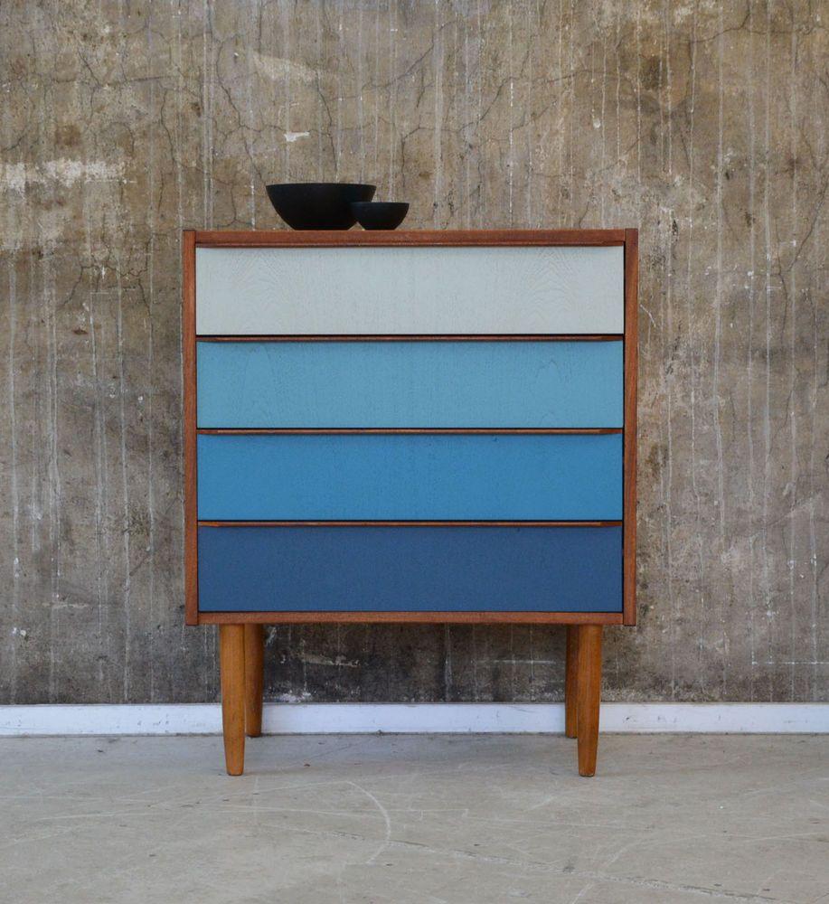 60er Teak Kommode Danish Design 60s Teakwood Cabinet Chest Finn Juhl Vodder Ara In Antiquitaten Kunst Design Stil 1960 1969 Ebay Inredning