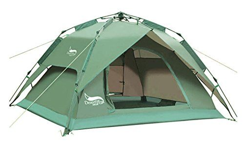 Desert Fox Happy Camping Tent For 23 Person Forest Green Click