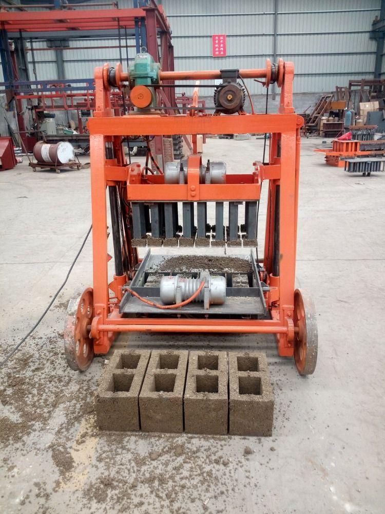 Moving Concrete Block Laying Machine Cement Sand Blocks Production Concrete Blocks Brick Molding Concrete