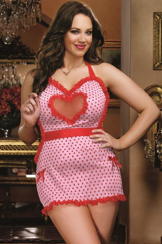 Plus Size Cheap Valentines Lingerie, Plus Size Sexy ...