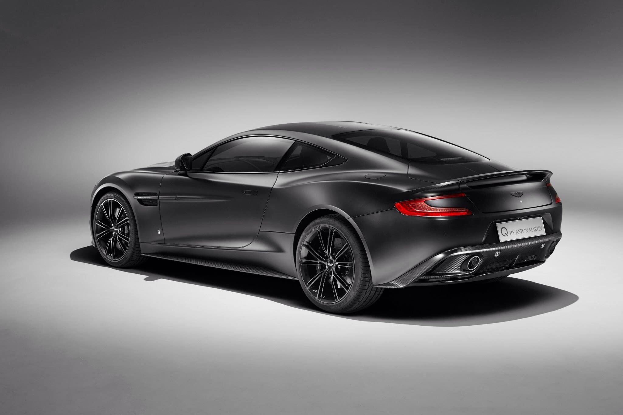 Am Vanquish Satin Jet Black Favourite Modes Of Transport