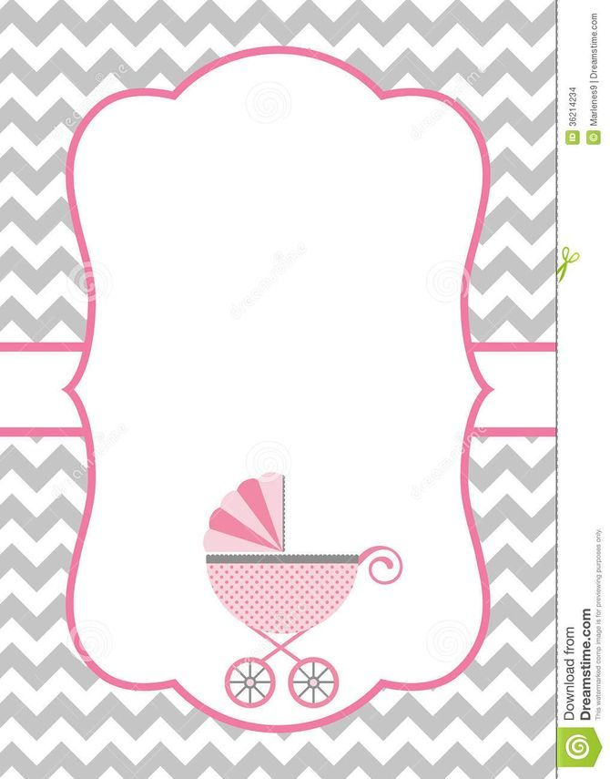 Make A Baby Shower Invitation Template Using Microsoft Word  Baby