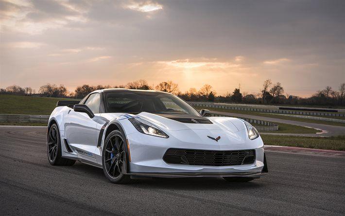 Chevrolet Corvette Carbon Edition Sports Car White