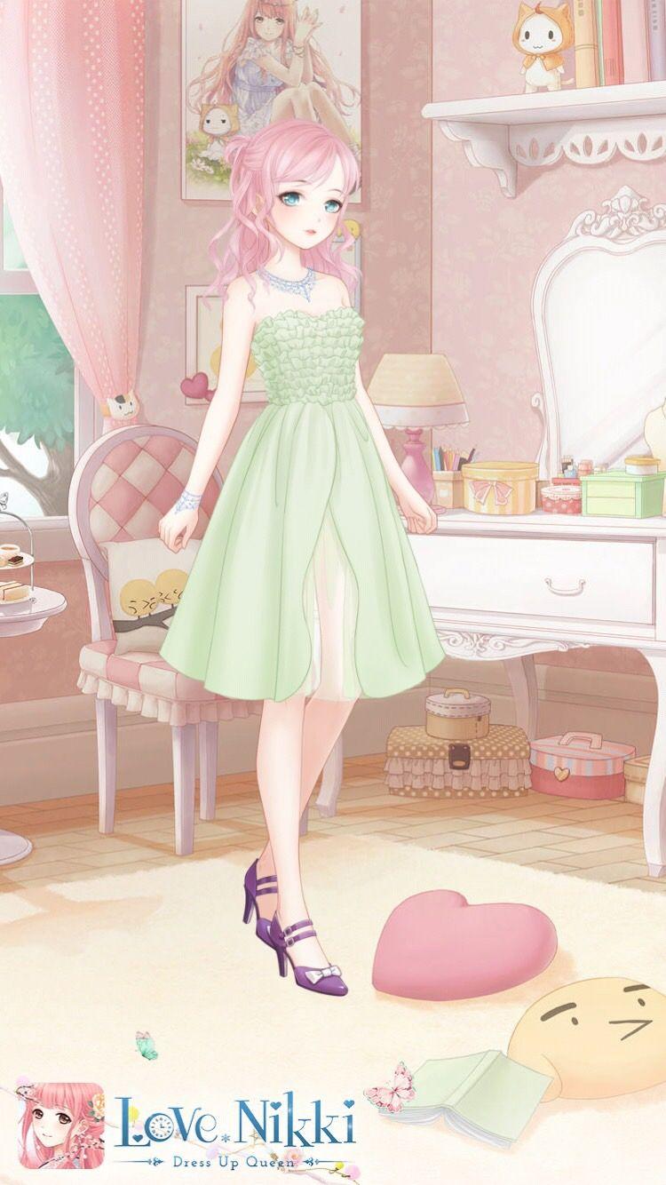 Love nikki dress up queen fashion art girl fashion cute little girls anime