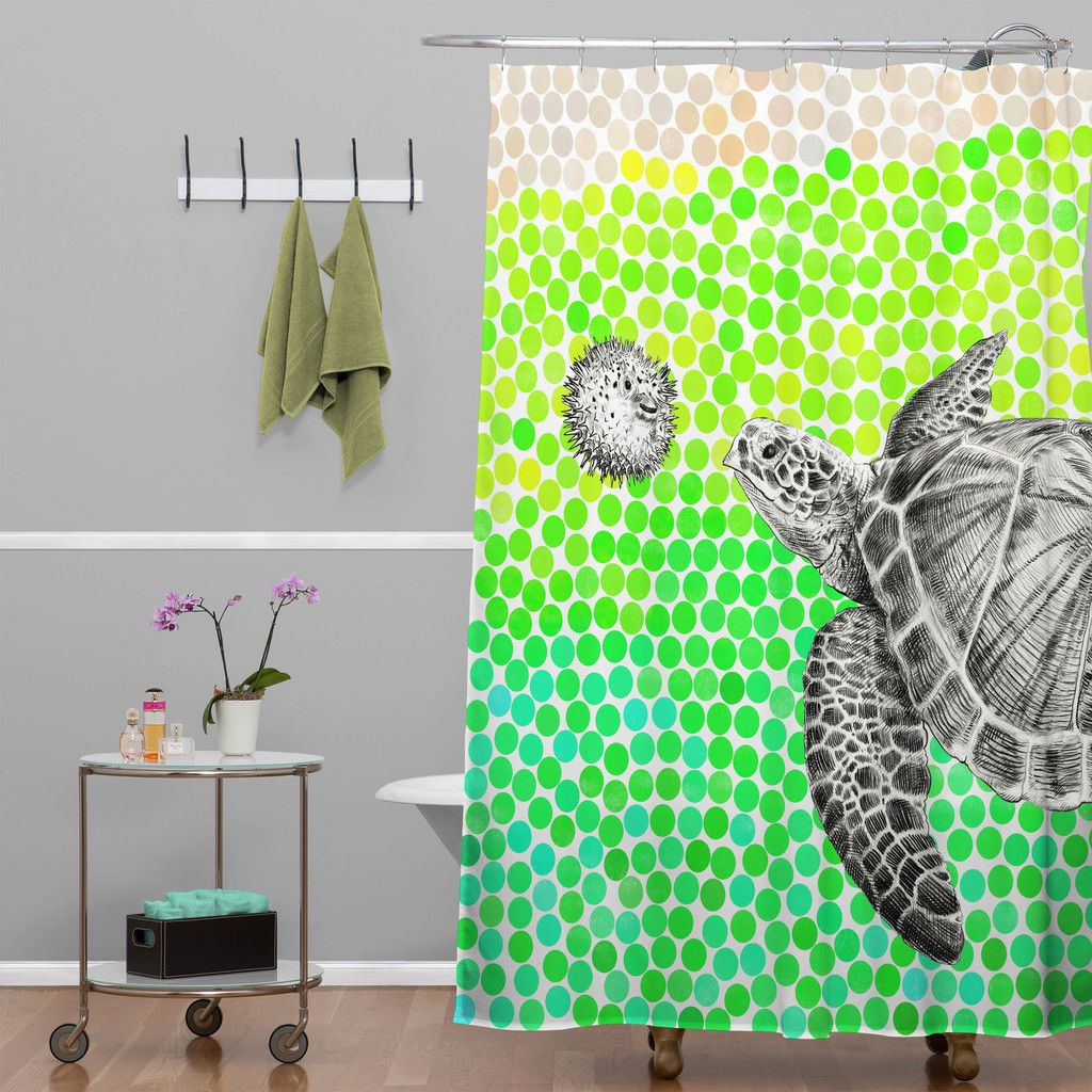 Garima Dhawan New Friends 1 Shower Curtain | DENY Designs Home Accessories