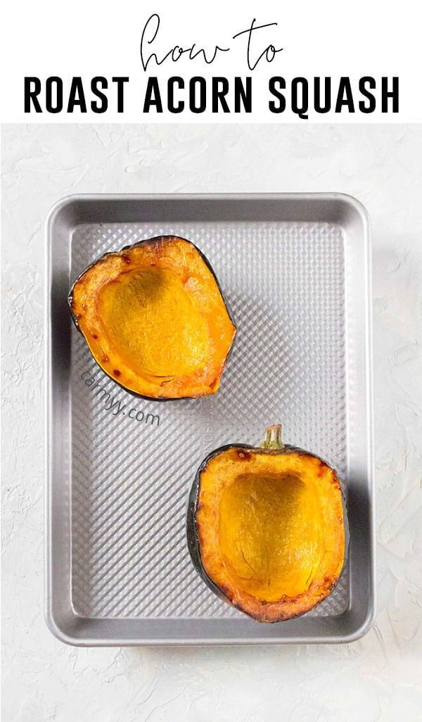 How To Roast Acorn Squash Recipe Healthy Eating Recipes Acorn