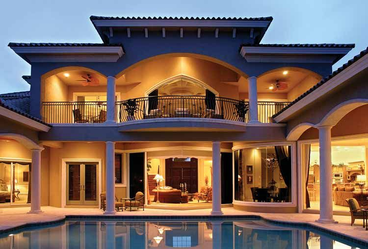 Mediterranean Style House Plan 5 Beds 5 5 Baths 6780 Sq Ft Plan 1017 1 Mediterranean Style House Plans Mediterranean Homes Luxury House Plans