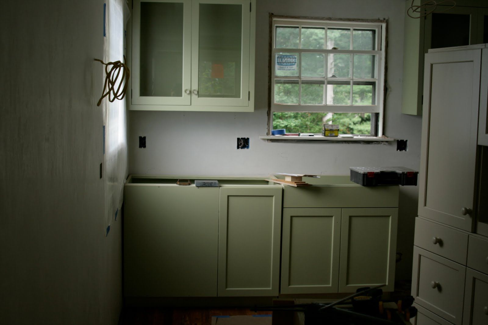 Farrow Ball 39 Cooking Apple Green 39 Painted Cabinets