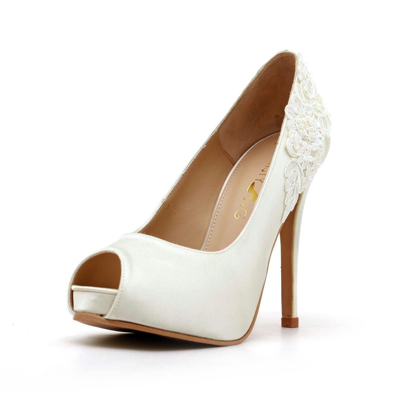 Ivory Wedding Shoe