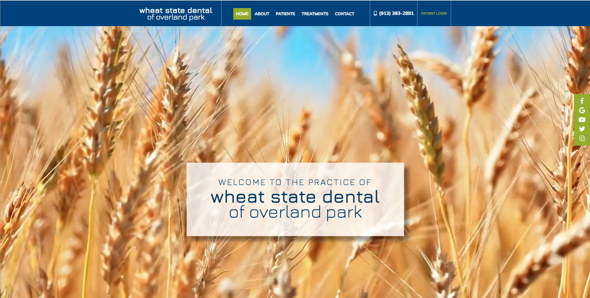 Sesamewebdesign Psds Dental Responsive Video Blue Green Sticky Sans Photography Texture Wood Dental Place Card Holders Overland Park