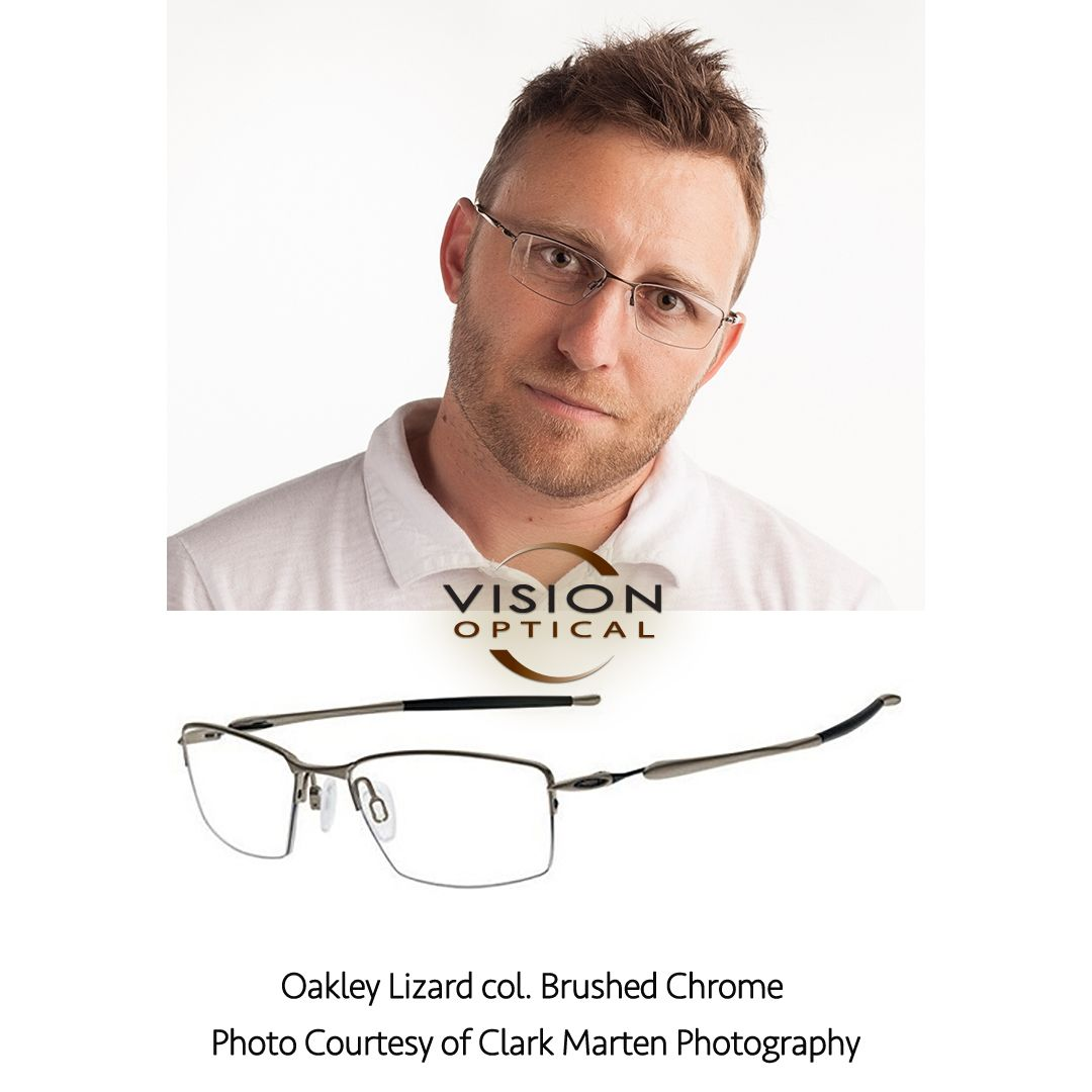 230d073abcd Oakley Lizard col. Brushed Chrome Photo Courtesy of Clark Marten Photography