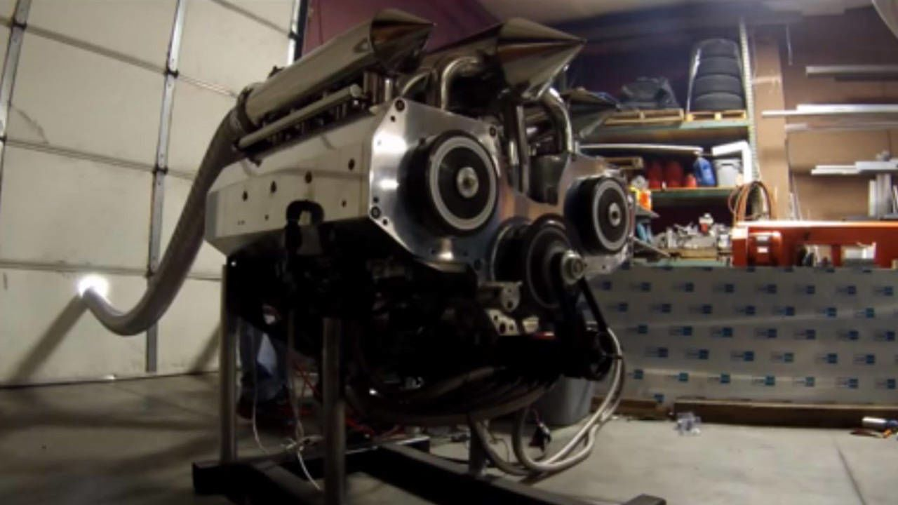Guy builds insane 12-rotor Wankel engine in his garage | fl