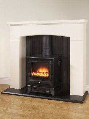 Adam Fires Fireplaces Denbury Electric Fireplace Suite With