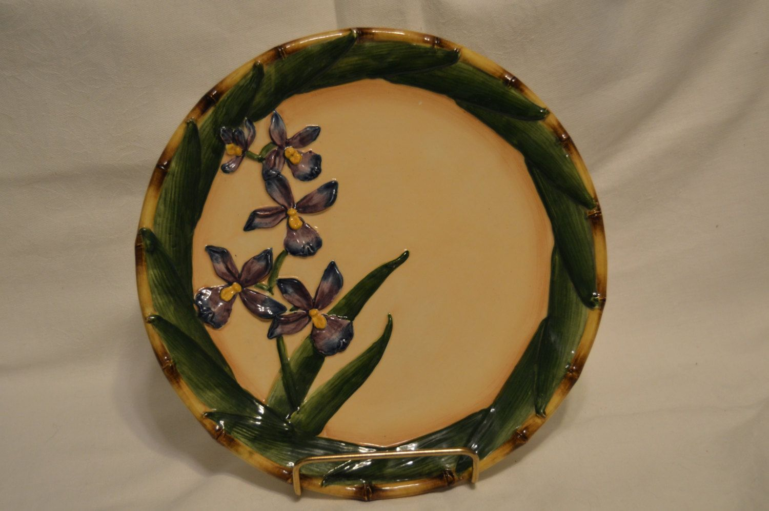 Handpainted Exclusive Pacific Rim China Plate by BigBlossomAntiques on Etsy & Pacific Rim Handpainted Exclusive China Plate Vintage Item #3457 ...