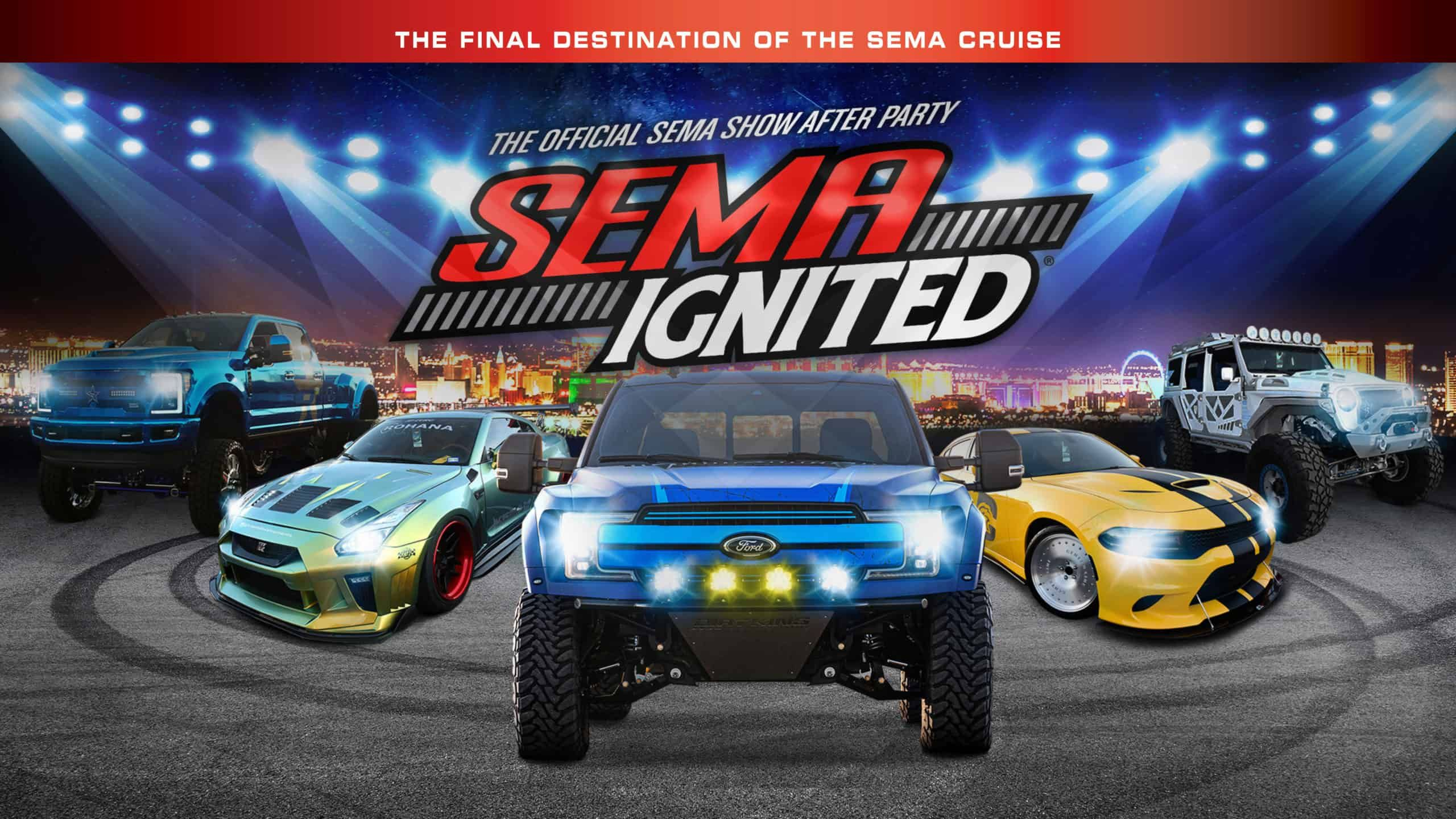 Halloween At Sema 2020 Parties SEMA Ignited 2020 ~ The SEMA Show After Party in 2020 | Ignite