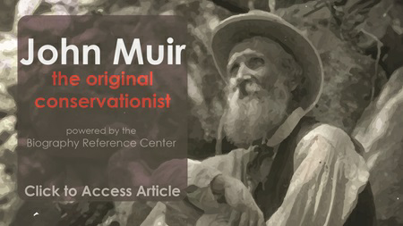 Use LibraryAware to help your patrons learn more about the man who started the conservation movementl with this ready-to-go promotion for Biography Reference Center. More at libraryaware.com