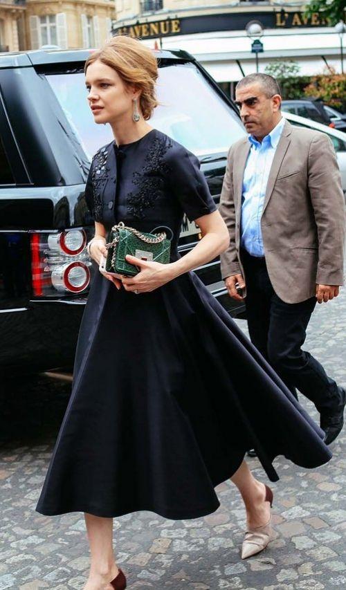 Natalia Vodianova in Dior.
