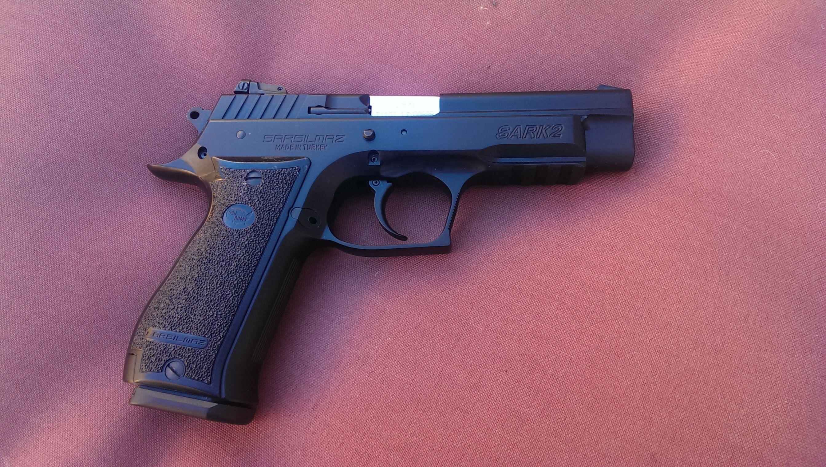 Sarsilmaz SAR K2 | Hello Gorgeous | Guns, Hand guns, Firearms