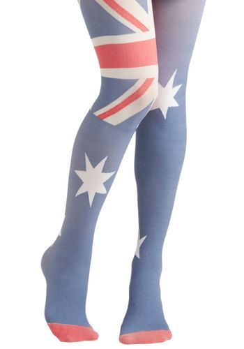 1f4a95a69d happy Australia day! | Fancy Tights & Other Feet Delights | Fashion ...
