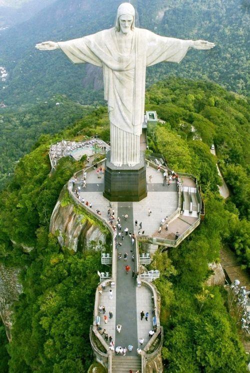 Cristo Redentor (Statue of Christ the Redeemer) R. Cosme Velho, 513 - Cosme Velho- Rio de Janeiro -RJ, Rio de Janeiro, State of Rio de Janeiro 22241 125, Brazil