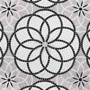 Materials Field Tile, Mosaic Tile, Waterjet Patterns and