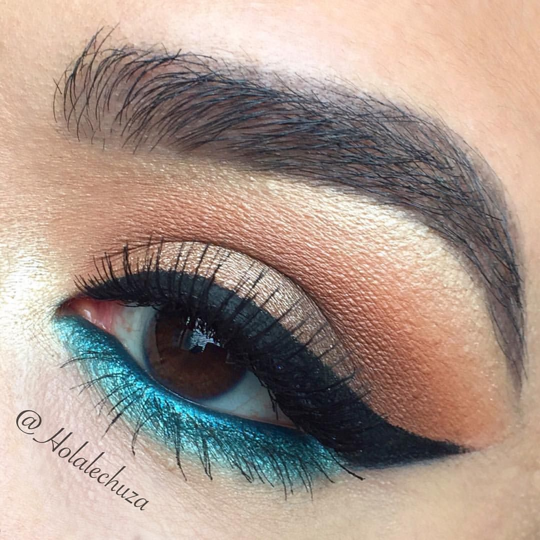 """98 Likes, 4 Comments - @holalechuza on Instagram: """"I'm really loving the pop of color using @kikomilano Sparkling Trail eyeshadow pencil in 04. I'm…"""""""