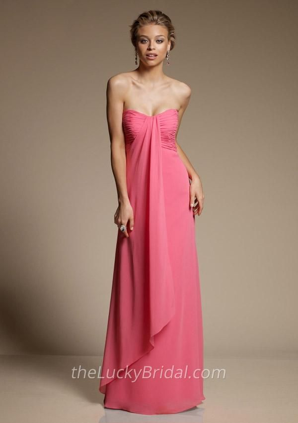 Dorable Bridesmaid Dresses Strapless Collection - Wedding Dress ...