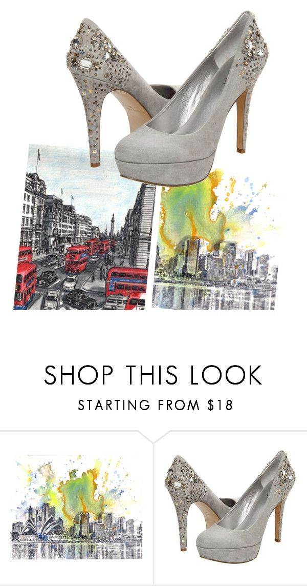 """""""*-*"""" by ynevieira ❤ liked on Polyvore featuring Nine West"""
