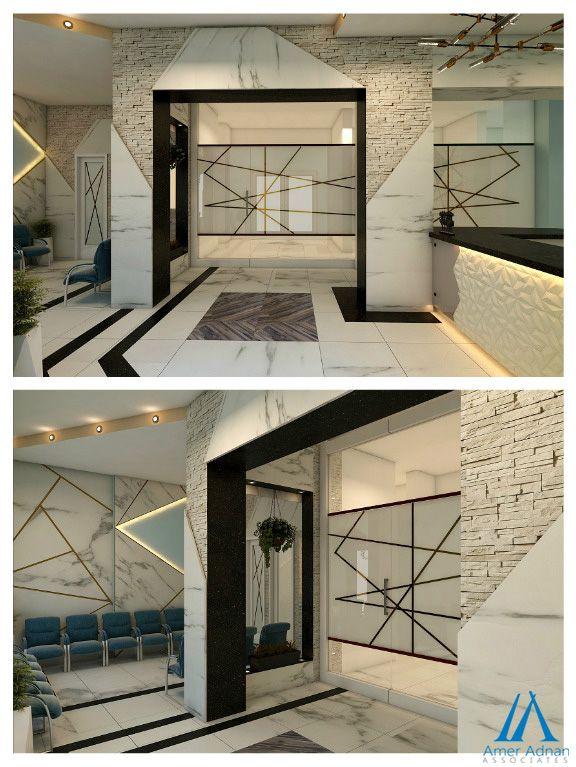 Modern Dental Clinic 3d Interior Design Work By Team Aaa