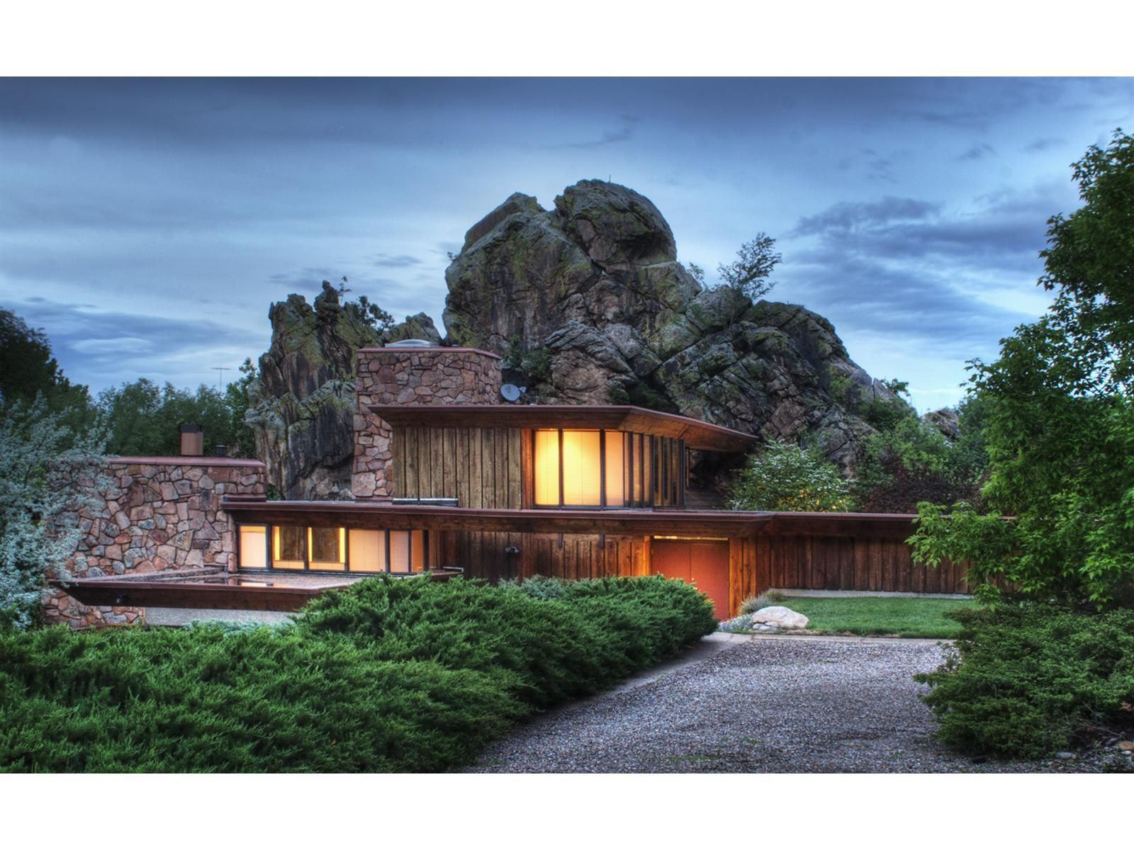 Most Beautiful Rock Homes in the World Home Decor