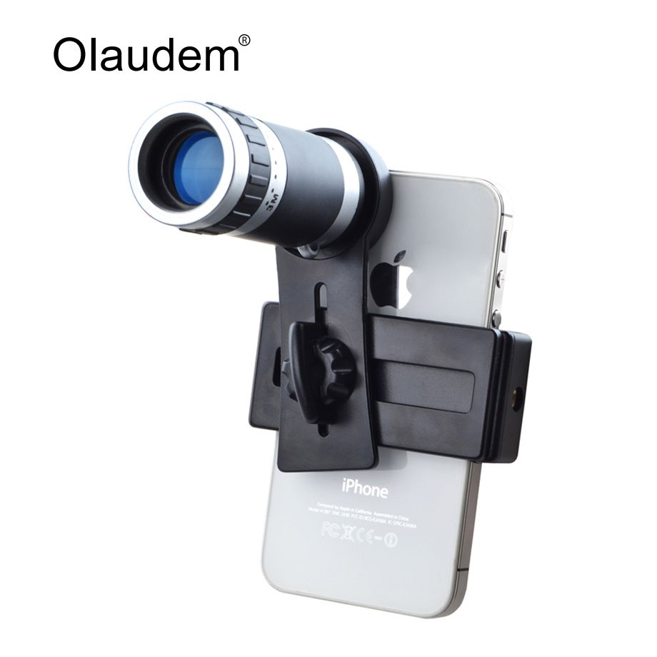 Camera Lens 8X Telescope Zoom Telephoto for iPhone 4 4S 5