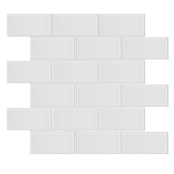 Gl Mosaic Subway Wall Tile