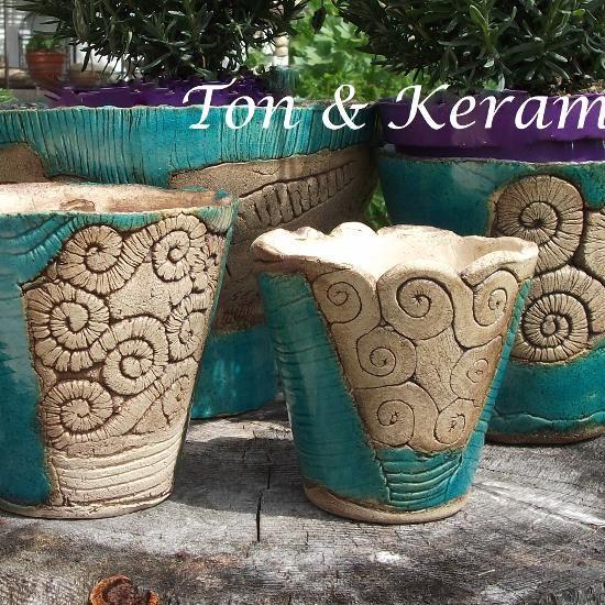 Ruhpoldinger-Keramikgarten, Ton & Keramik, Gabriele Hinterseer - Gartenkeramik #slabpottery