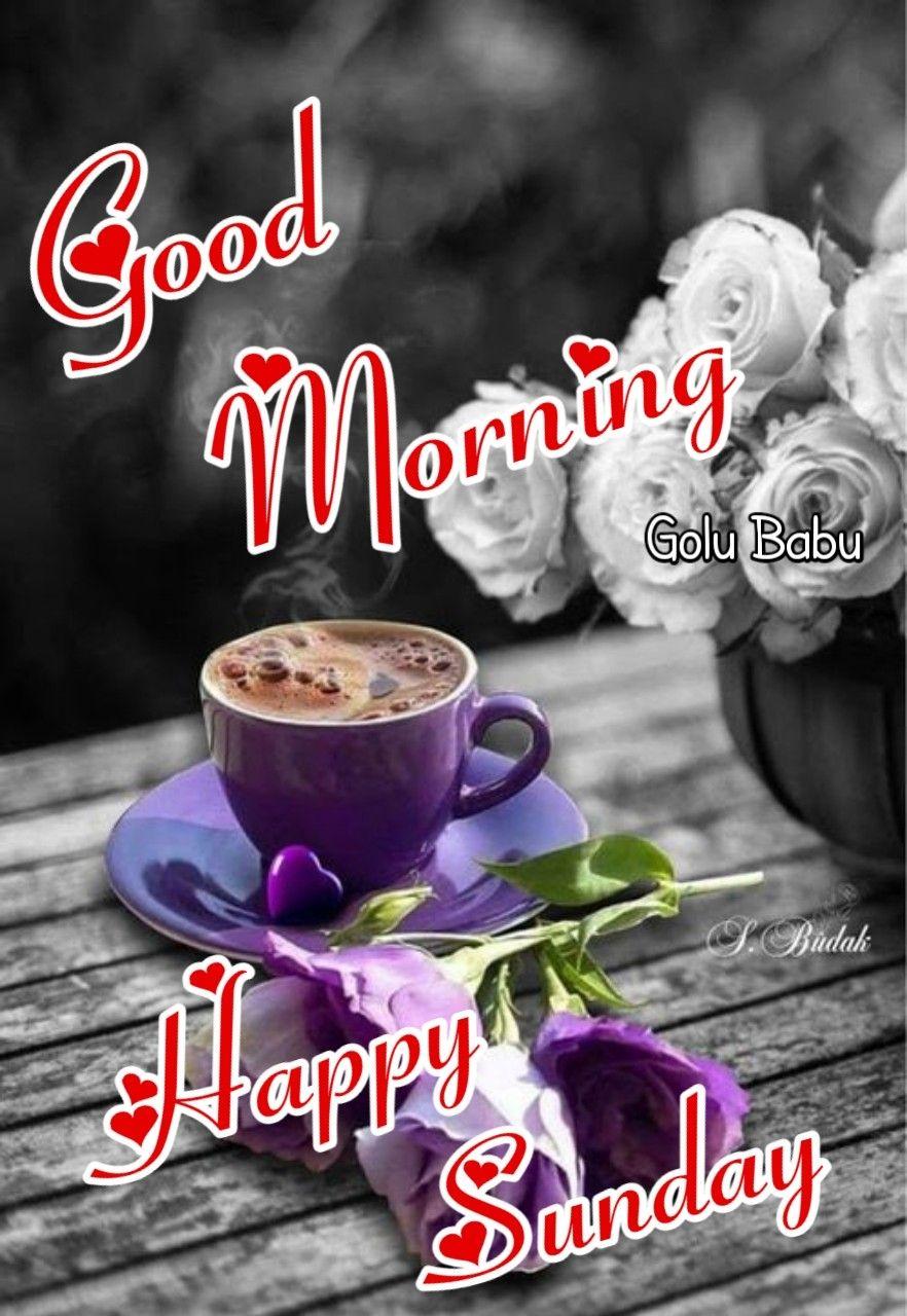 Happy Sunday Greetings Good Morning Happy Sunday Sunday Coffee
