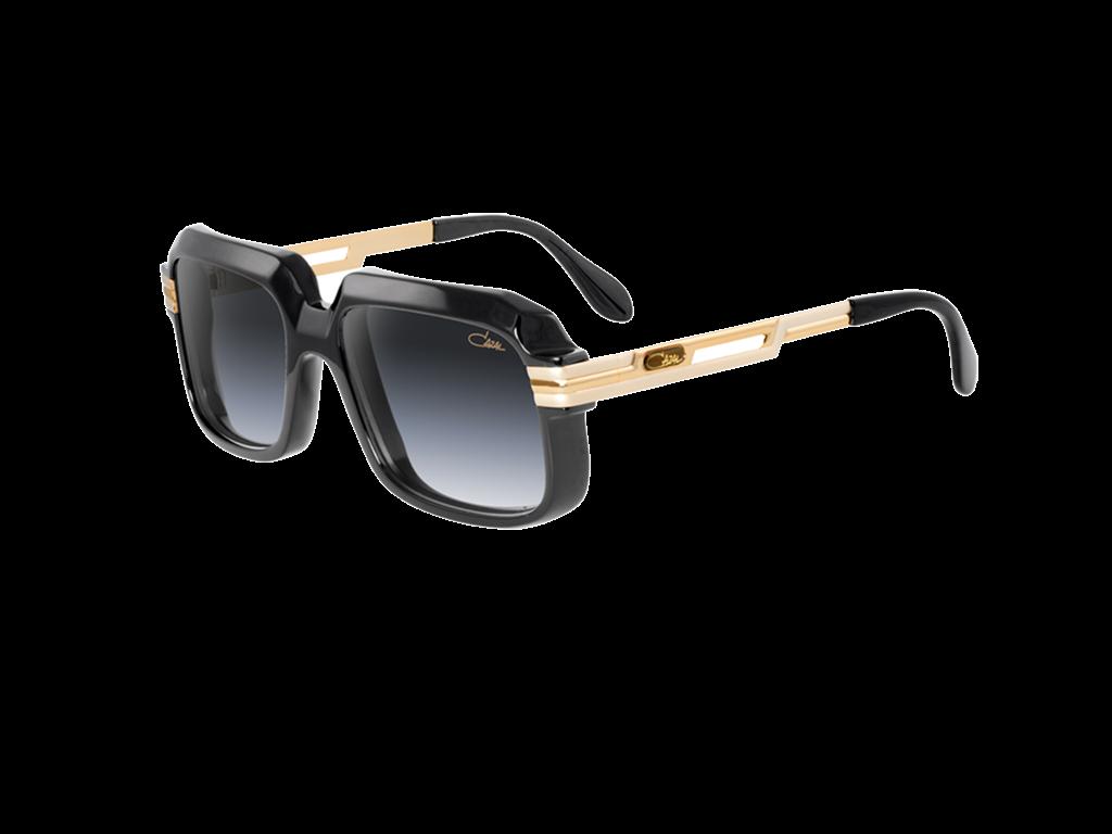 60e867736af2 Cazal 607 2 Black  amp  Gold Optical Glasses