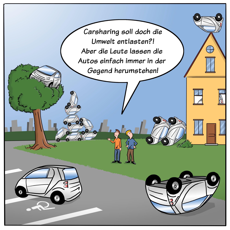 Carsharing wird immer beliebter. Doch das free-floating ...