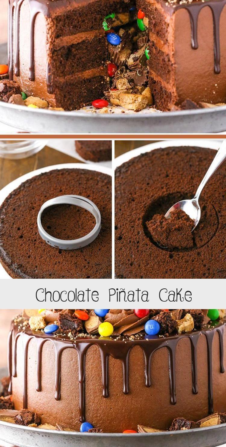 Photo of Chocolate Piñata Cake – Life Love and Sugar #PinataKuchenBirthday #PinataKuchen…