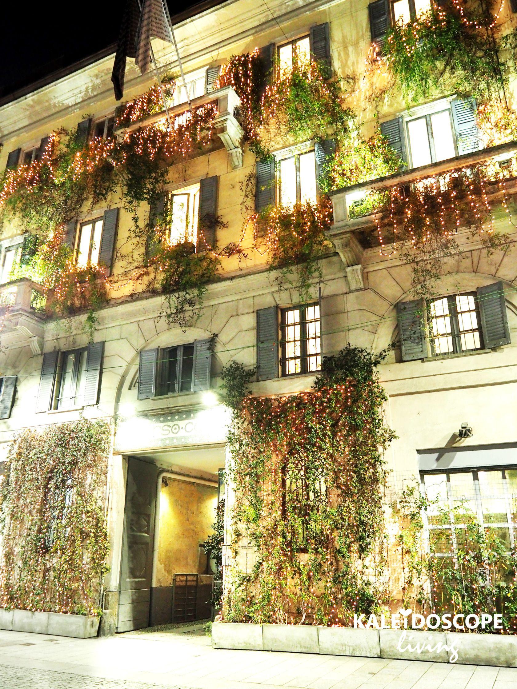A Secret Garden In Milan 10 Corso Como Italy 10 Corso