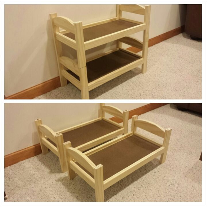 Wooden Doll Bed Plans Diy Woodworking