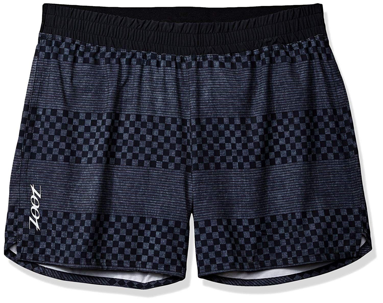"Mens 5"" PCH Shorts Black Checkers CQ12NELZ2IZ in 2020"