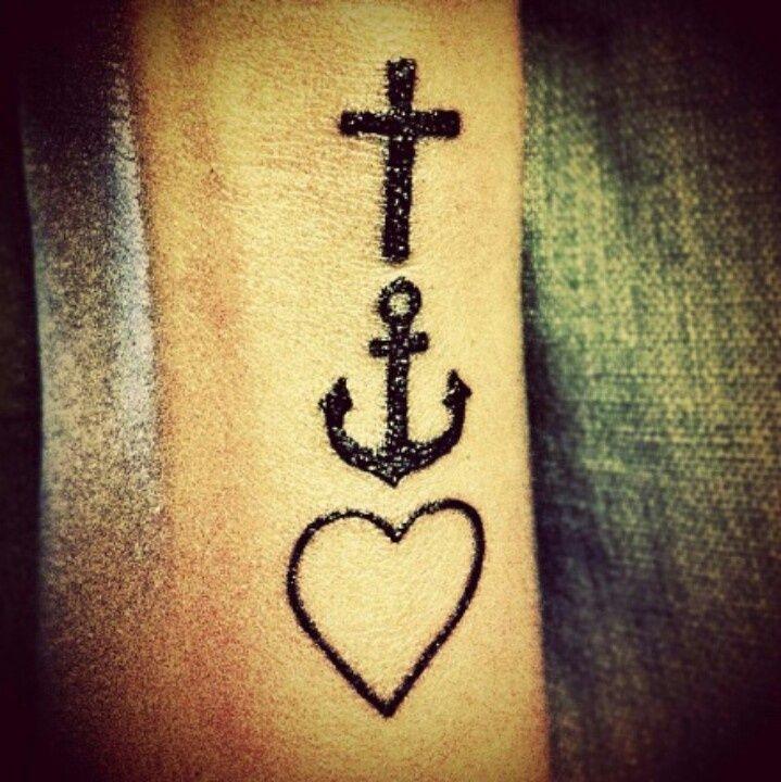 Faith Hope Love Symbolic Tattoos Tattoos Tattoo Pictures