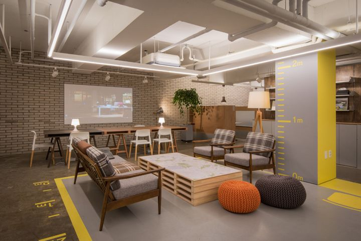Mrhomes Real Estate Agency Office By Intune Seoul South Korea