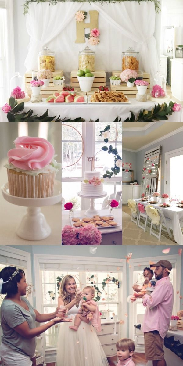 21 Adorable First Birthday Party Ideas For Little Girls A Must Read Baby Girl 1st Birthday 1st Birthday Girls Girls Birthday Party Themes
