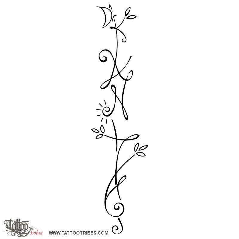 Tatuaggio Di Anita Amore Gioia Tattoo Joy Tattoo Tribal Tattoos With Meaning Tattoos